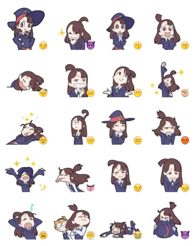 Witch Stickers