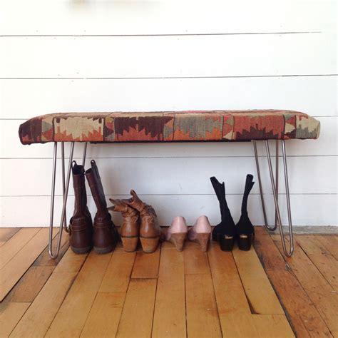 hairpin leg bench kit upholstered bench with hairpin leg support modern legs