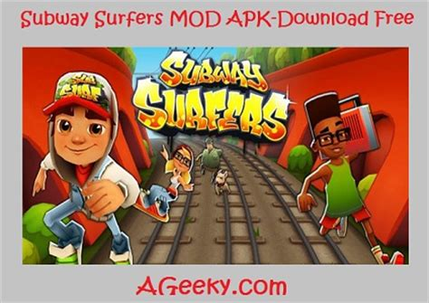 subway surfers apk mod subway surfers mod apk v1 54 0 features