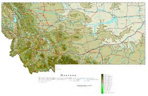 image gallery large map of montana