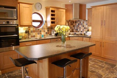 kitchen breakfast island houses carrigart self catering cottage in donegal ireland