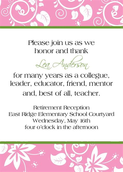 25  best ideas about Retirement party invitations on