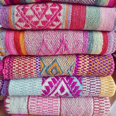 tappeti peruviani frazadas anden teppiche bunte decken aus peru