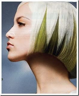 color pattern for short hair pinterest