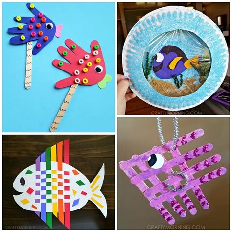 fishing crafts for creative fish crafts for crafty morning