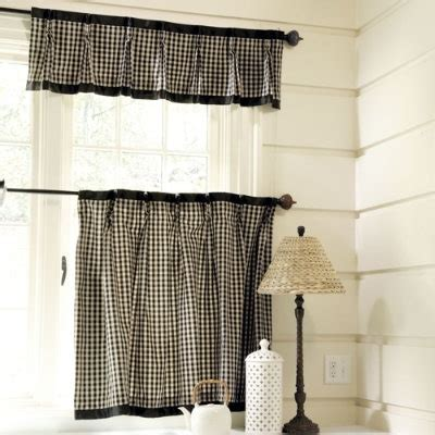 Black And White Checkered Kitchen Curtains Kitchen Curtains Quot You Had To Make Sure That The Tone Of Your Dress