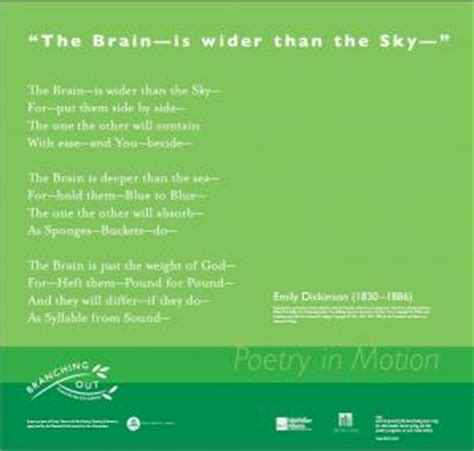 the brain is wider than the sky thinglink the brain is wider than the sky poetry society of america