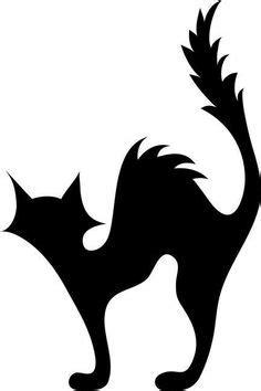 black cat templates for halloween printable templates black cat template
