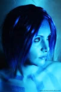Cortana body paint cortana makeup 2 by yukilefay
