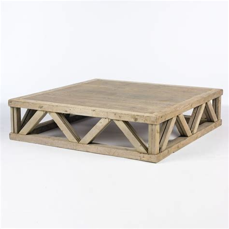 Rustic Square Coffee Table Rustic Square Coffee Table Woodworking Projects Plans