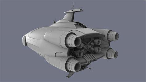Printer Stand Ideas Starship Concept Subnautica