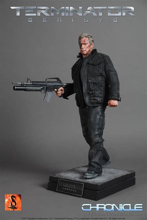 Toys Arnold T800 Brand New Terminator Figure terminator genisys 1 4 scale guardian statue