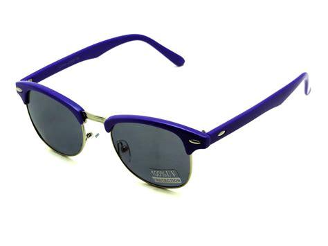 Kacamata Retro Wayfarer Classic Style Kc8w612 new womens clubmaster wayfarer sunglasses half frame vintage retro style 136 ebay