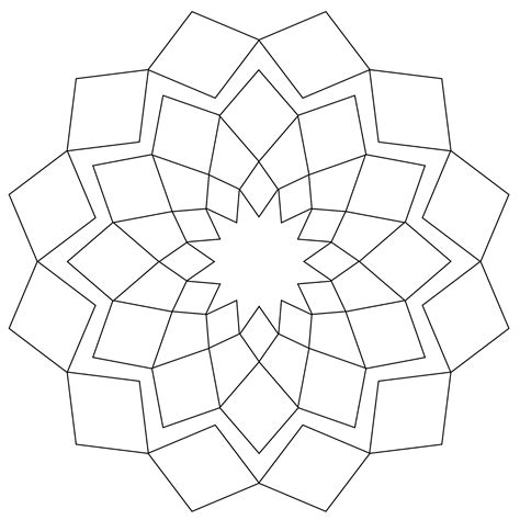 simple mandala coloring pages free coloring pages of simple mandala s