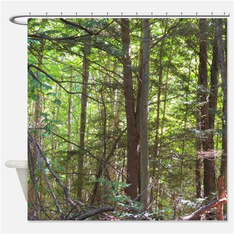 forest curtains forest scene shower curtains forest scene fabric shower