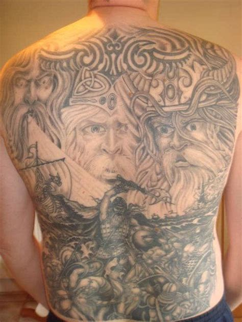 tattoo pictures of vikings viking world tattoo on back