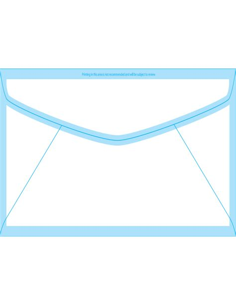 window envelope template window envelopes 11 4 1 2 x 10 3 8 back free