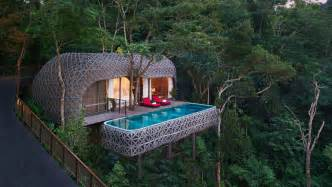 Monsoon Outdoor Shower - bird s nest pool villas keemala luxury villas kamala