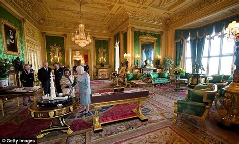 Private Dining Rooms Dc by All The Queen S Horses Turn Up The Pomp For Visit Of