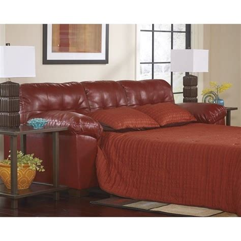 ashley furniture durablend sofa ashley furniture alliston durablend queen sleeper sofa in