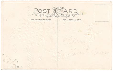 vintage scrapbooking free vintage post card backs