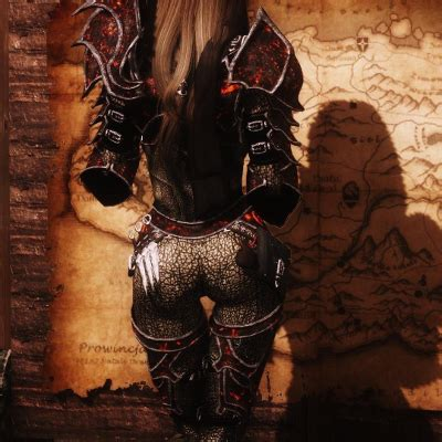 hack game demon hunter mod demon hunter armor volcanic metal at skyrim nexus mods