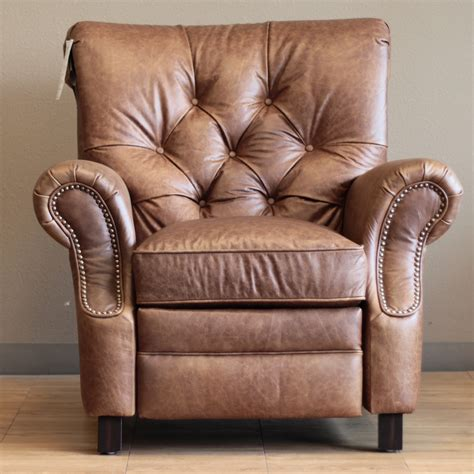 leather reclining chair and barcalounger phoenix ii recliner chair leather recliner