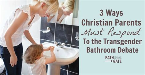 ways christians  respond  transgender bathroom