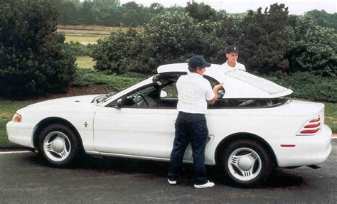 95 ford mustang convertible top timeline 1995 mustang the mustang source