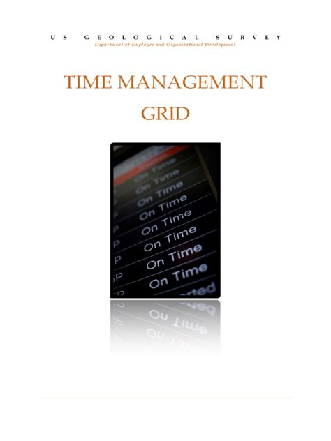 time management grid template time management grid template edit fill sign