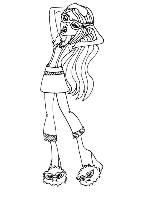 All About Monster High Dolls June 2013 High Characters Coloring Pages