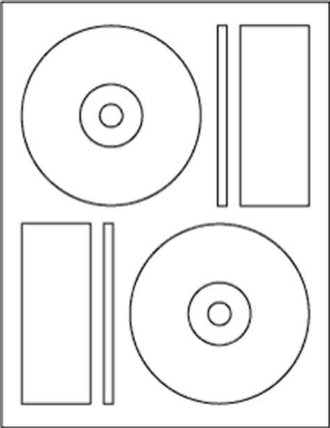 Memorex Cd Label Templates cd dvd labels memorex 3 in 1 compatible matte 40 qty