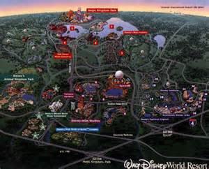 walt disney world map of resorts