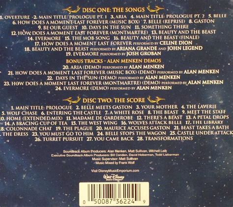 Beastly Deluxe Edition alan menken howard ashman tim rice various the