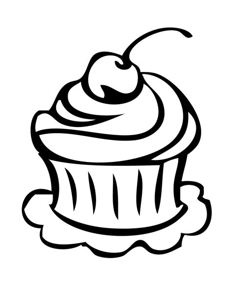 free coloring pages of pretty cake free printable cupcake coloring pages h m coloring