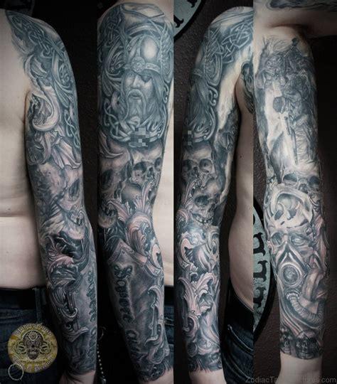 viking tattoo sleeve designs 72 zodiac viking tattoos on