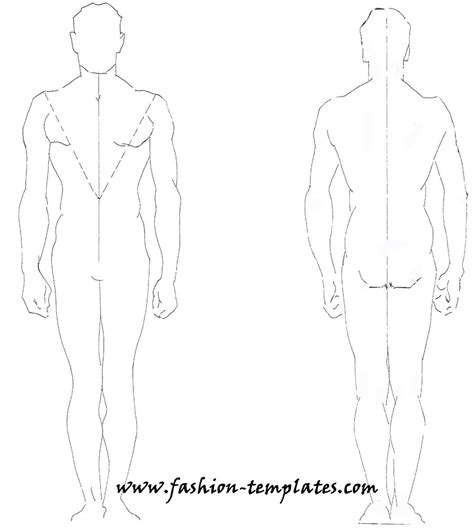 costume template technical drawing fashion by dutoitm on deviantart