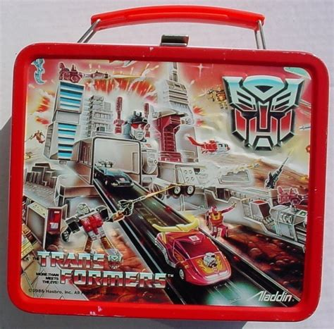 Transformer Pony Lunch lunch box smellingcrayons