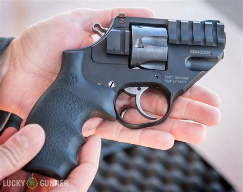 jump into the light review korth sky marshal 9mm revolver a review