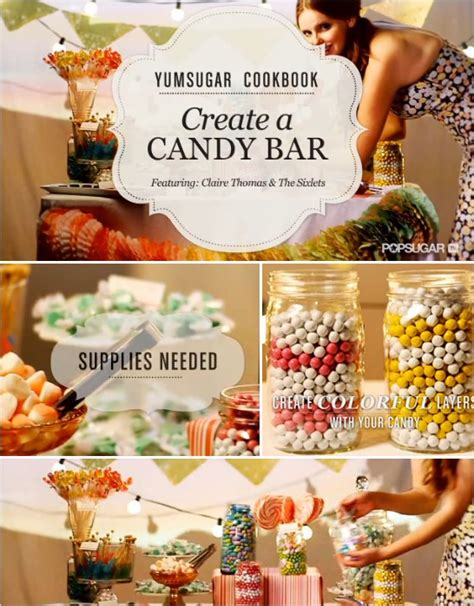 Do It Yourself Candy Buffet Wedding Day Pins You Re 1 Do It Yourself Buffet