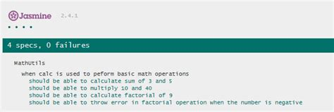 jasmine tutorial javascript testing jasmine javascript unit testing tutorial with exles