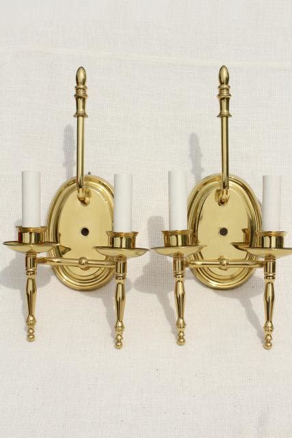 please help me with wall mounted sconces and mirror issues polished brass wall mount lights pair candle sconces w