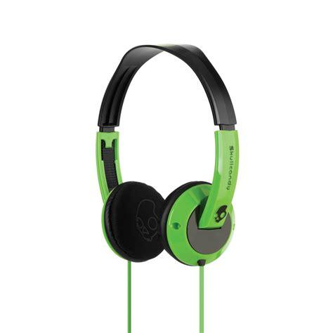Headphone Skullcandy Skullcandy Uprock 2011 Green Headphones S5urdz 037