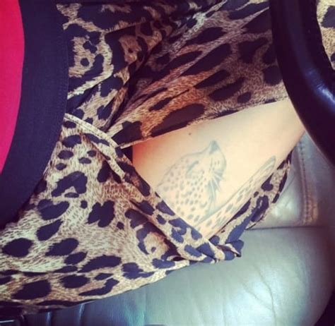 jenelle evans tattoos jenelle shows thigh keeps it and