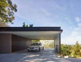 Modern Carport Gorgeous Use Of Wood Takes This Mansion To The Next Level