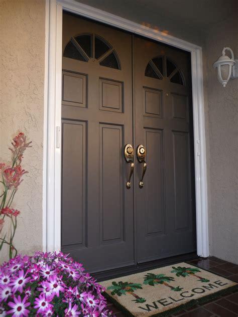 double exterior doors exterior doors luxury  regard