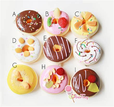 Squishy Donat 1 items similar to jumbo fruit donut squishy charm on etsy