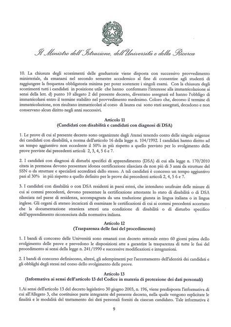 iscrizione test d ingresso professioni sanitarie professioni sanitarie 2017 il bando miur per il test