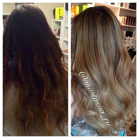 what is it called when hair is dark pn top light on bottom 1000 ideas about balayage on black hair on pinterest