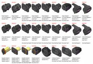12v 24v dual usb car cigarette lighter socket charger